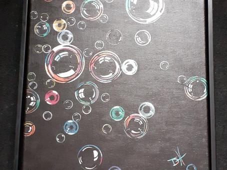 Blowing bubbles still!?