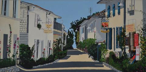 "La Farandole, France (W24"" x H12"") Prints available"