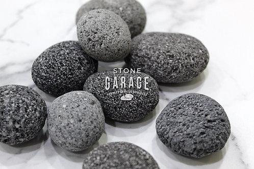 Black Lava Pebbles