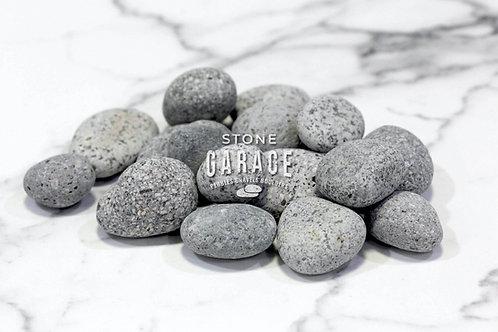 Light Grey River Pebbles