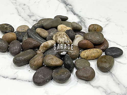 Mixed Polished Pebble