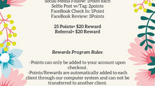 T.R.E. Beauty Studio Client Rewards Program!