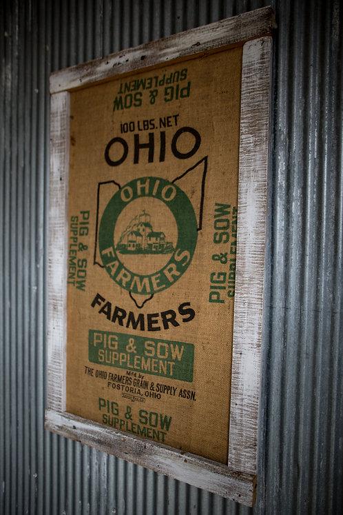 Unique Farmers Sign