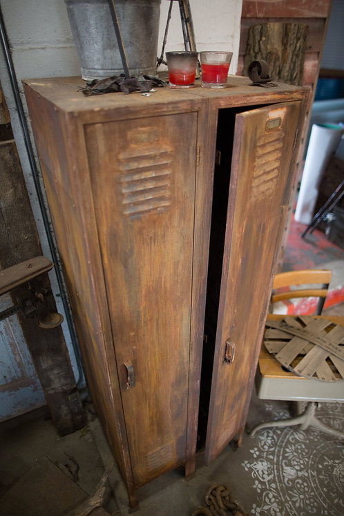 Patina Antique Locker