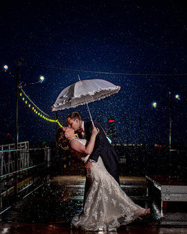 Rain on your wedding day Sandusky Wedding Photography