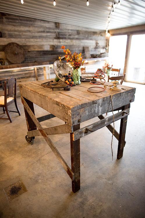 Tall Vintage Table