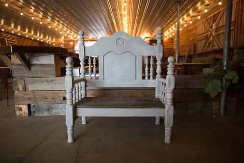 Antique White Chair
