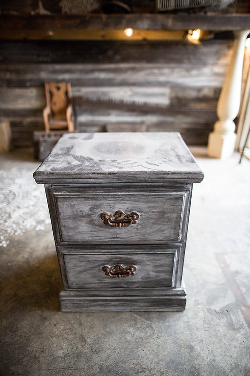 Small Dresser Gray Washed