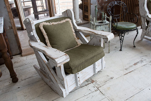 Unique Rocking Chair w/ Pillows