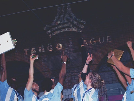 Adidas wraps up the first London #TangoLeague event
