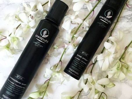 Style Your Hair With A Crunch-Free Hold Using #Awapuhi HydroCream Whip, Then Finish It Off With A Mi