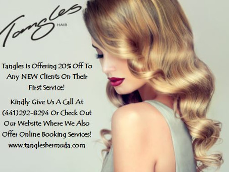 20% Off On ALL New Clients! We Can't Wait To Meet You!