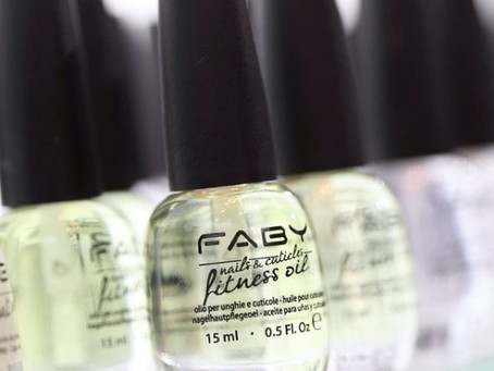 Remember To Pamper Your Nails And Cuticles With Faby Fitness Oil! Available For Sale At Tangles!