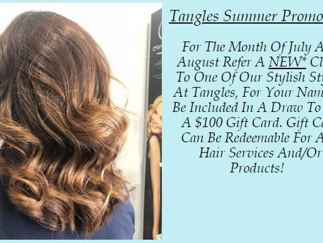 Exciting Tangles Summer Promotion!