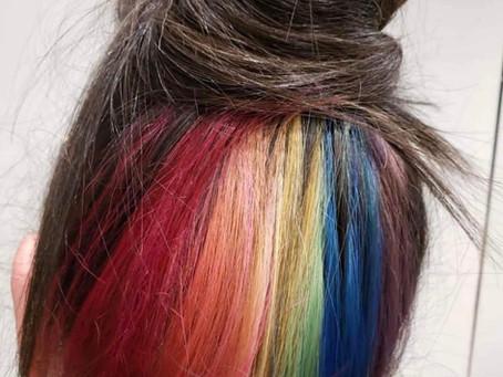 #PrideHair By Hanro! #lovealwayswins
