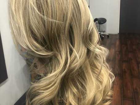 Blone Balayage By Sylvie #blondie #blondebalayage #hairgoals #alfaparf #tanglesbermuda