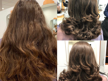 Wow! Now That's What You Call A Cut! Gorgeous Before & After By Renee!