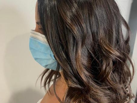 Brunette Babe By Louise! #brunettebabe #alfaparf #haircolor #tanglesbermuda