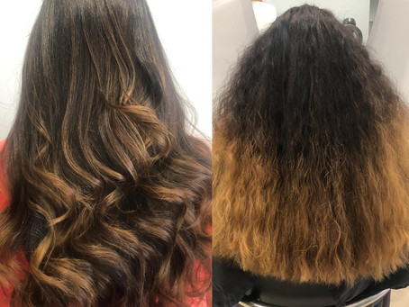 Stunning Before And After By Renee! Hair Change Is A Good Change! Give Us A Call For You Hair-Wow To