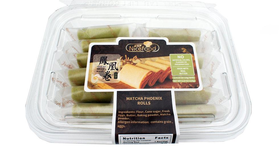 Matcha Flavor Crepe Cookies