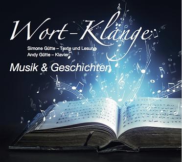 CD Wort-Klänge Musik & Geschichten Simone und Andy Gütte
