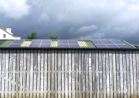 4kw Solar PV System installed at Drum Ho