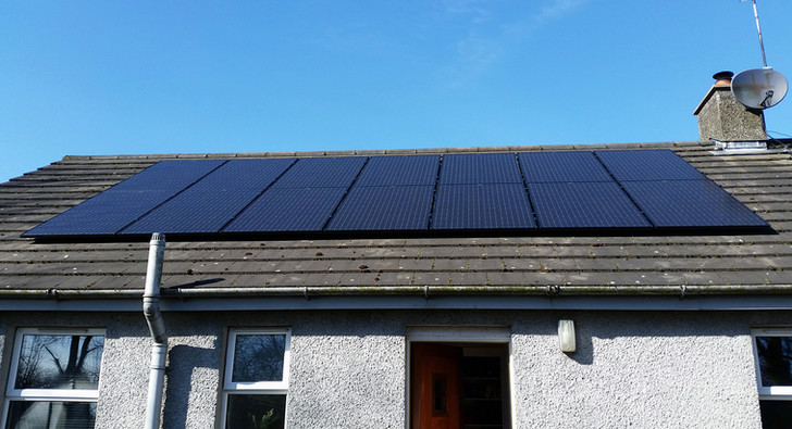 4kw solar pv system installed in Ballyme