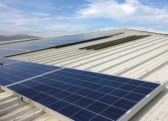 12kw Commercial Solar PV System Belfast
