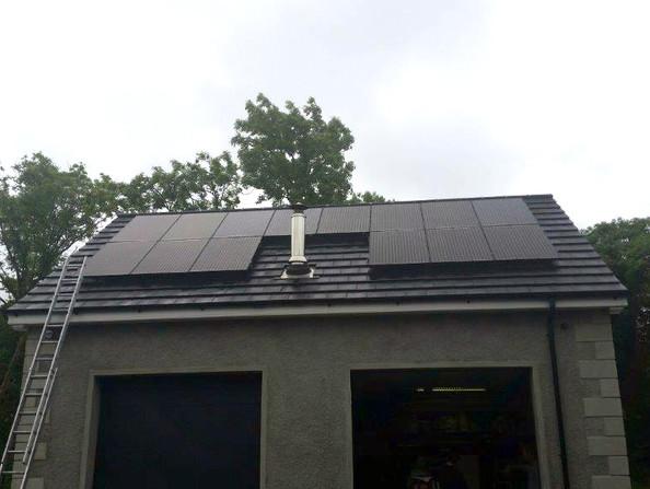 4kw Solar Panel System in Castlewellan,