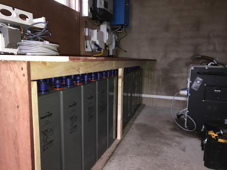 Off Grid Solar PV Installation in Crumli