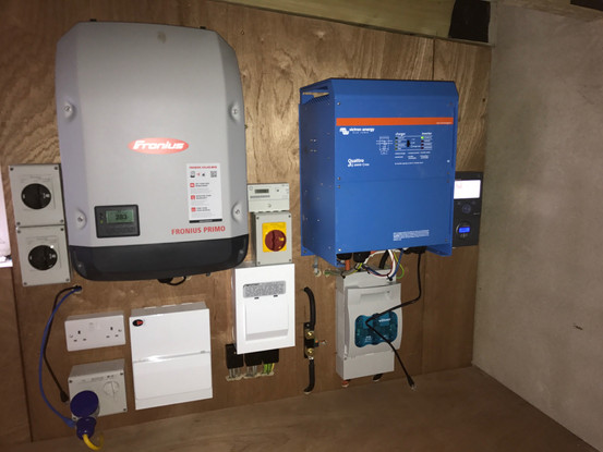 Off Grid Solar PV Installation in Crumli