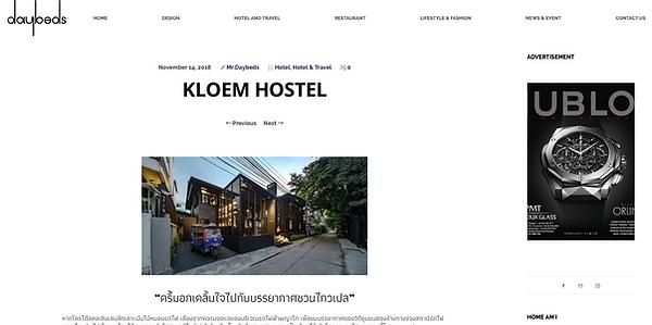 daybeds magazine kloem hostel bangkok