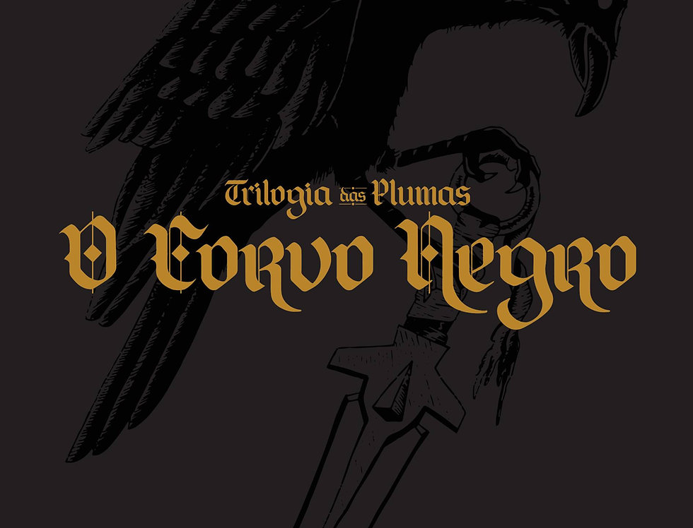 Trilogia das Plumas: O Corvo Negro (capa dura)