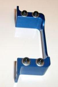 Anodized Aluminum Servo Mounts Blue