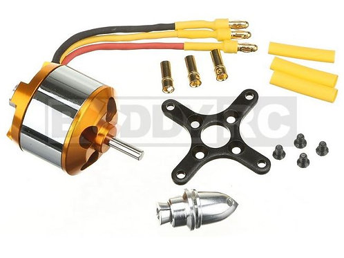 Golden Power 2826-4 1000KV Brushless Motor (Power 25 Equivalent)
