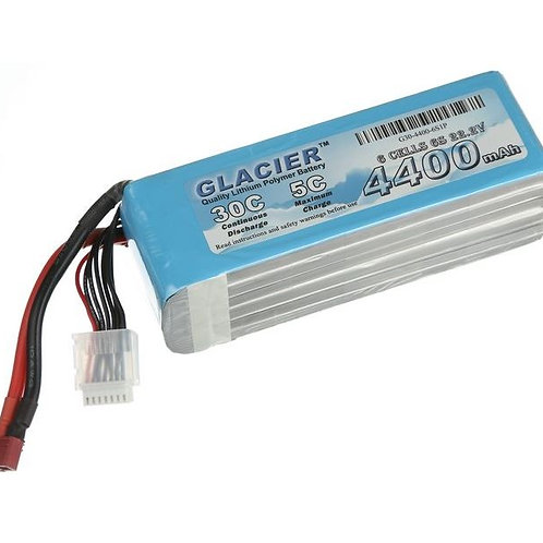 Glacier 30C 4500mAh 6S 22.2V LiPo Battery