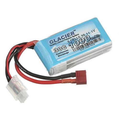 Glacier 30C 1000mAh 3S 11.1V LiPo Battery