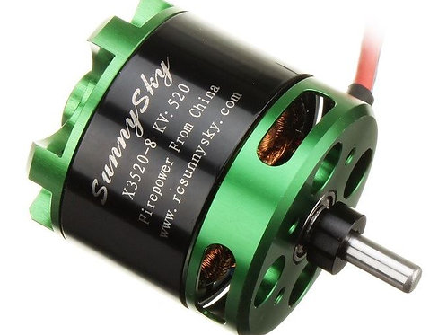 Sunnysky X Series X3520 520kv Brushless Motor