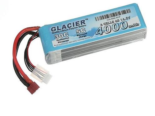 Glacier 30C 4000mAh 4S 14.8V LiPo Battery
