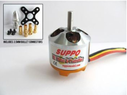Suppo 3520/6 840kv Brushless Motor (Power 32 equiv.)