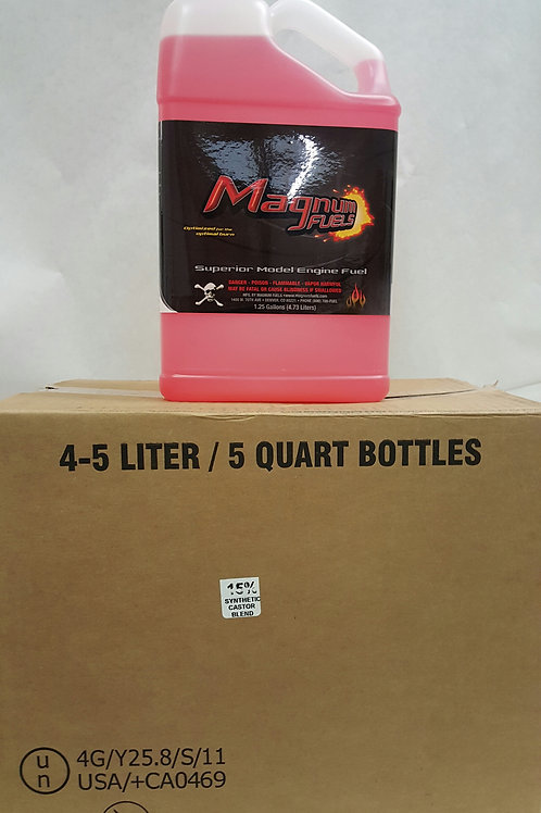 Magnum Glow Fuel 15% (5 Qt Container) Local Pickup Only