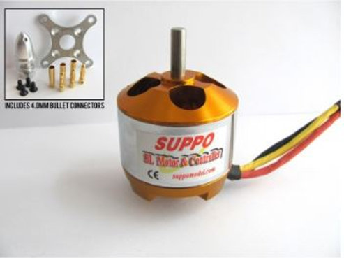 Suppo 4120/6 620kv Brushless Motor (Power 46 equiv.)
