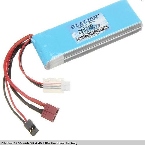 Glacier 2100mAh 2S 6.6V LiFe Receiver Battery