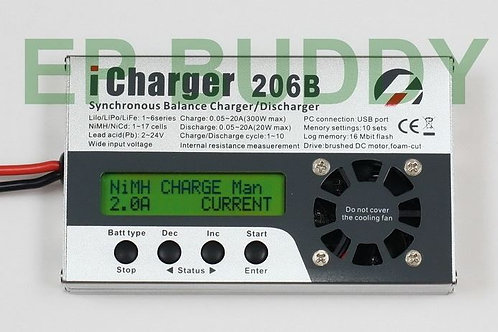 iCharger 206B 300W 20A 6S Balance Charger