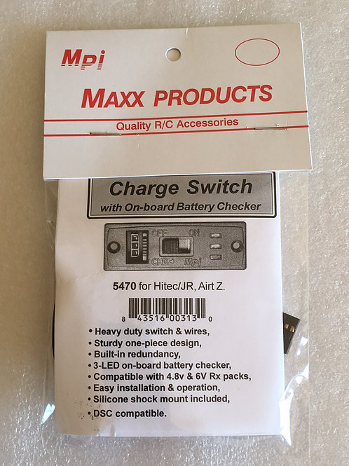 Charge Switch with On-Board Battery Checker