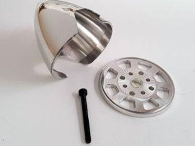 2-1/2 Inch Aluminum Spinner