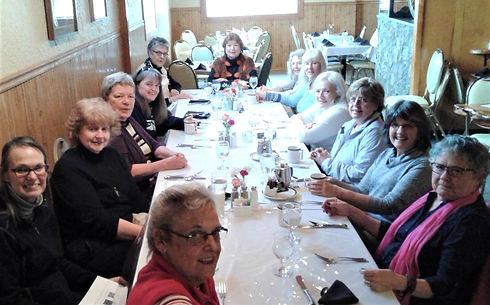Friday Lunch  Eileen Nell Priscilla Beve