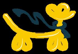 バルーン犬