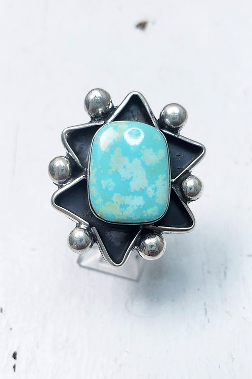 NEVADA TURQUOISE STAR RING BY MARLENA TOM