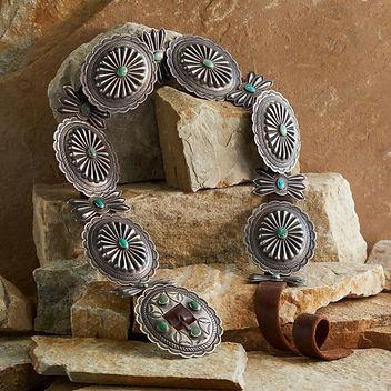 Navajo Concha Belt From Sundance Catalog Western fashion nfr